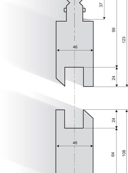 כיפוף Z שיטת דפינה B תואם טרומף