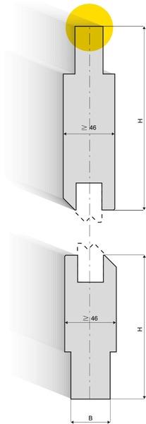 כיפוף Z שיטת X